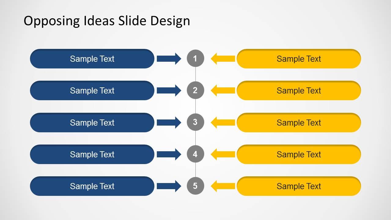 6368 01 Opposing Ideas 2 Slidemodel