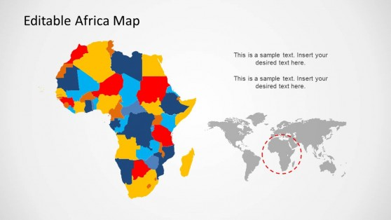Countries of Africa PowerPoint Template