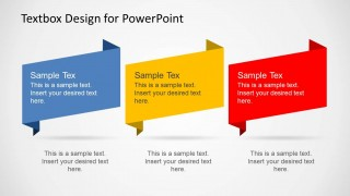 3 Creative Text Boxes Slide Design
