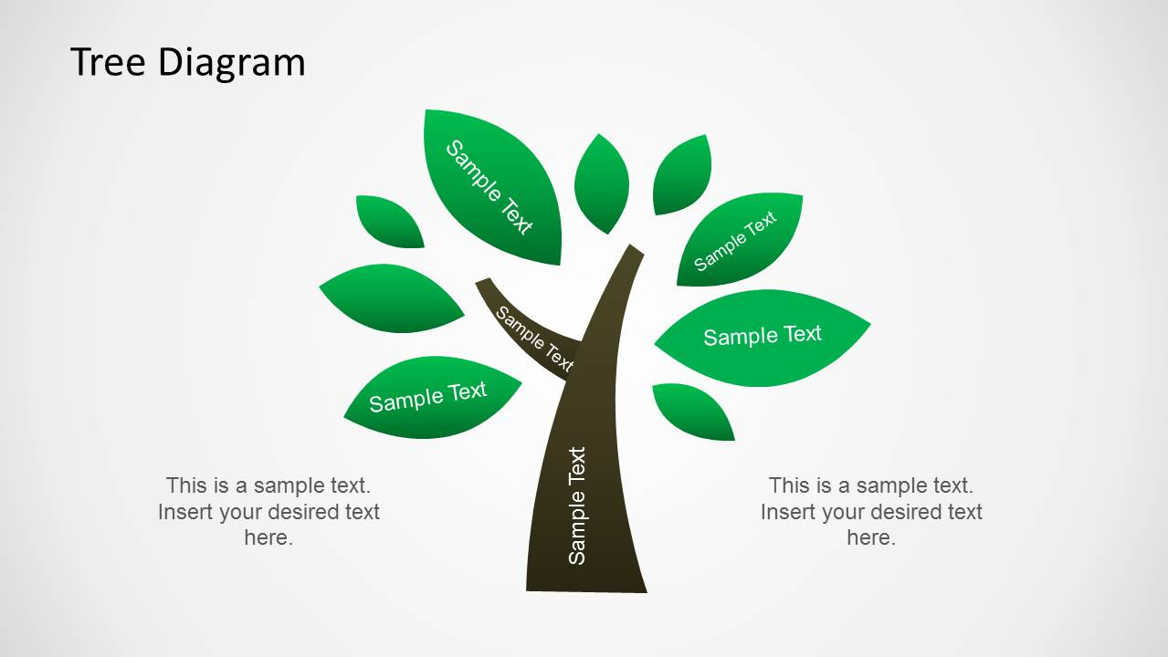 tree diagram templates for powerpoint     tree diagram