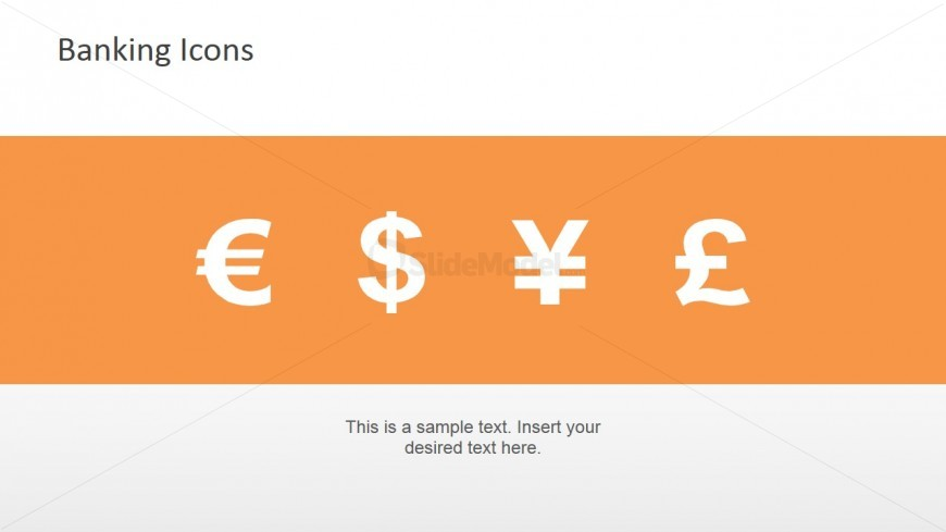Currency Icons PowerPoint Template