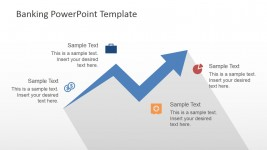 Transactions Growth PowerPoint Template