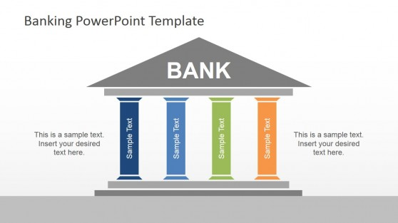 Bank Establishment PowerPoint Template