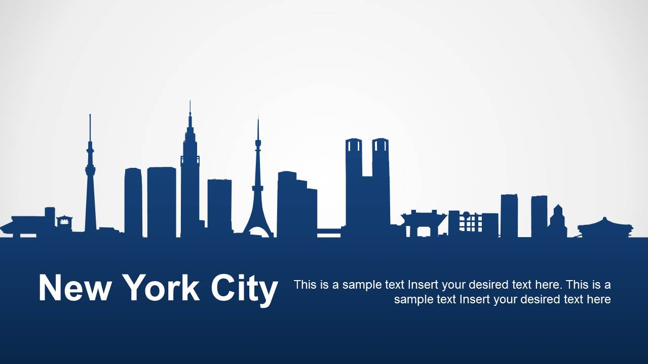 New york city powerpoint template slidemodel toneelgroepblik Image collections