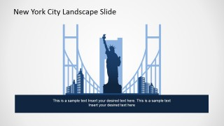 PowerPoint New York City Silhouette Symbols