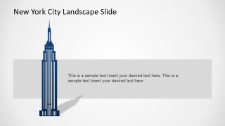 PowerPoint Clipart of Empire State