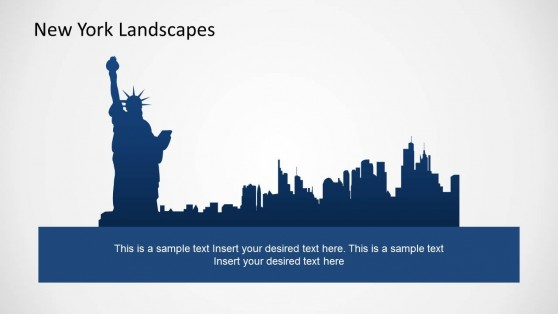 Statue of Liberty PowerPoint Theme of New York
