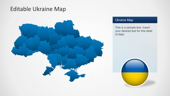Ukraine powerpoint templates ukraine map template for powerpoint 6403 01 ukraine map 2 toneelgroepblik Images
