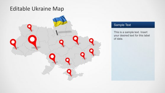 Ukraine powerpoint templates 6403 01 ukraine map 4 toneelgroepblik Images