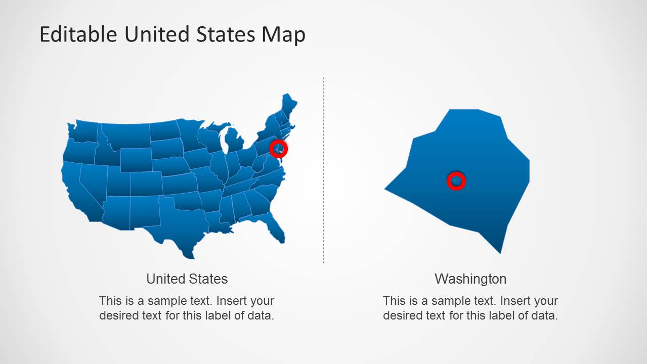 editable us map powerpoint - Yelom.myphonecompany.co