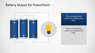 Battery Shapes for PowerPoint