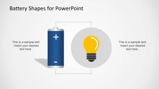 Battery Energy Clipart PowerPoint Design