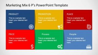 Marketing Mix PowerPoint Comparison Table