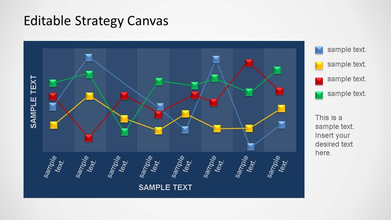 editable strategy canvas powerpoint template slidemodel. Black Bedroom Furniture Sets. Home Design Ideas