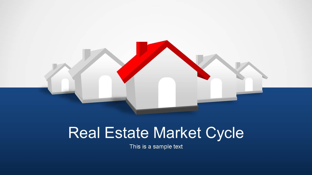 real estate market cycle powerpoint templates - slidemodel, Modern powerpoint