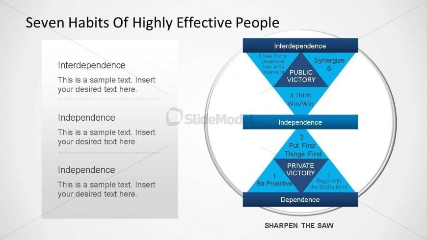 Seven habits of highly effective people diagram powerpoint template seven habits of highly effective people diagram powerpoint template toneelgroepblik Images