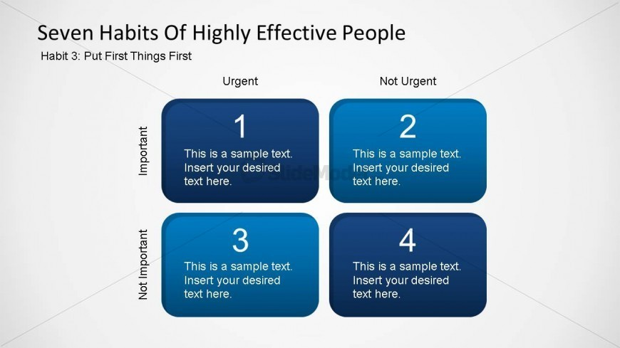 Seven Habits of Highly Effective People - Habit Three ...