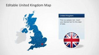 PowerPoint Map of UK