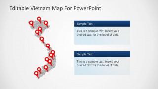 Vietnam PowerPoint Map Template