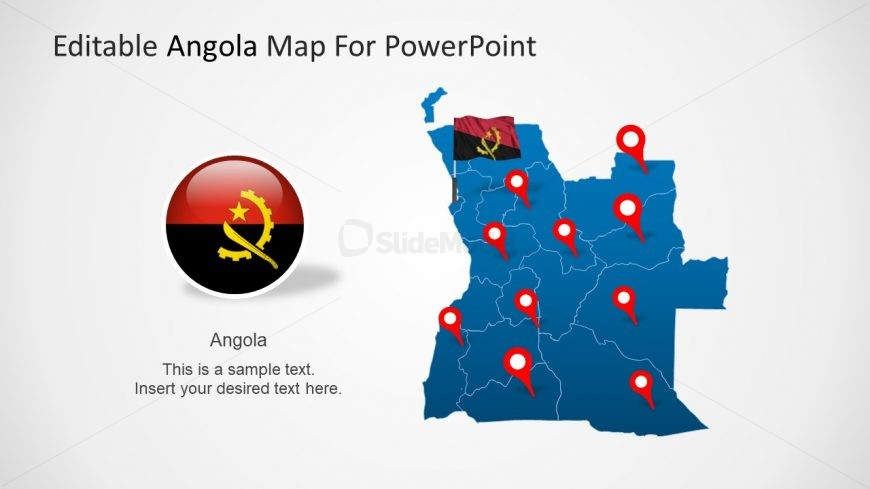 Slide of Angola Geographic Presentation