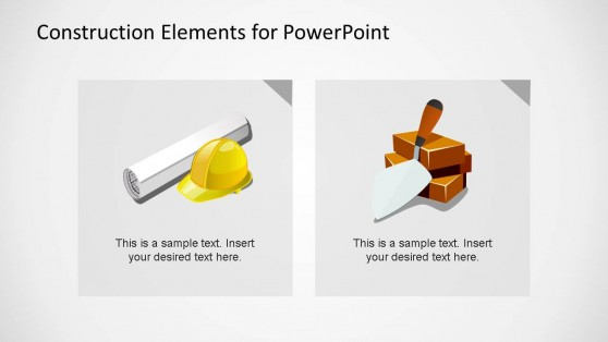 Construction Tools Clipart for PowerPoint