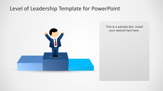 Leadership Success Slide Design for PowerPoint