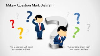 Too Many Questions PowerPoint Template