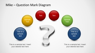 Too many questions powerpoint template slidemodel for Powerpoint questions and answers template