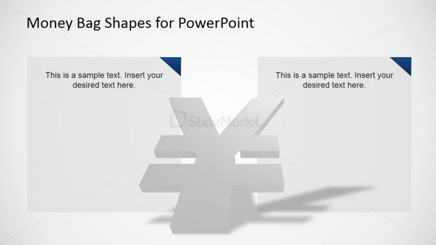 Creative 3d Yen Currency Symbol Powerpoint Icon Slidemodel