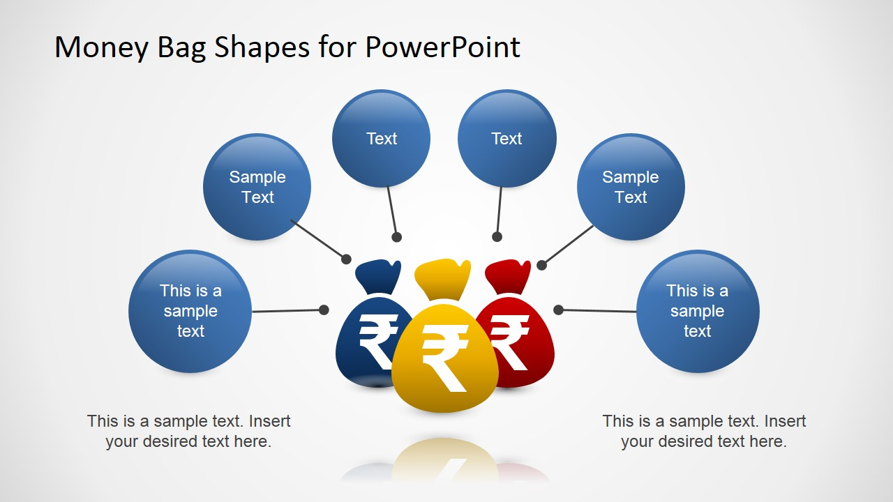 Money bags with indian rupee powerpoint template slidemodel biocorpaavc Choice Image