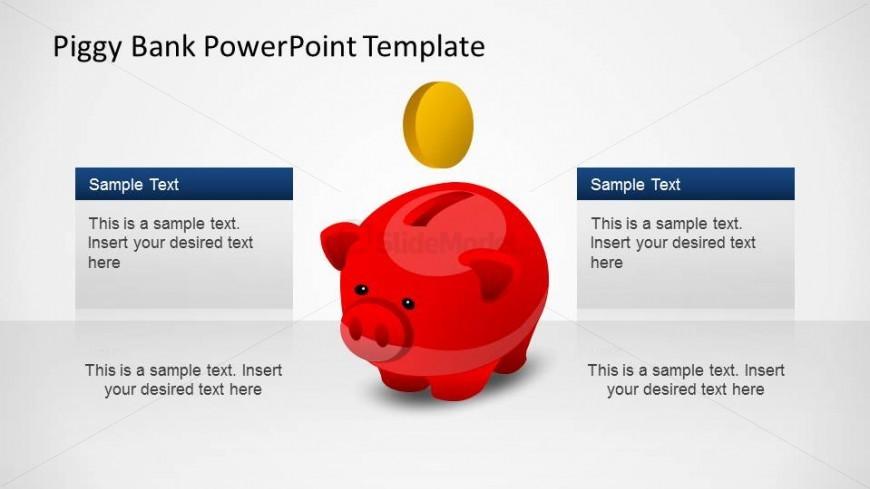 creative piggy bank powerpoint shapes template slidemodel
