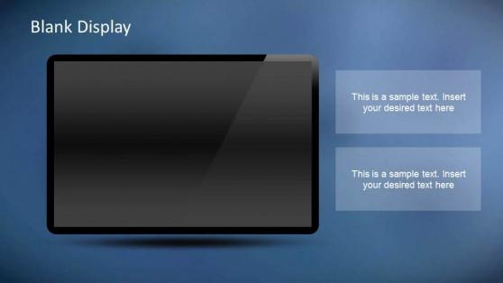 Creative Chart Dashboards PowerPoint Template Dark Background