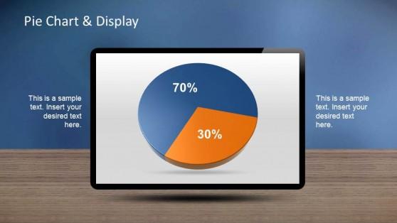Creative PowerPoint Pie Chart Dashboard