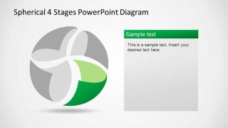 Sphere Diagram Green Wedge Highlight
