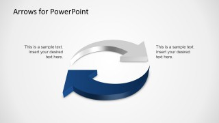 3d arrows powerpoint template slidemodel 3d arrows powerpoint template is a presentation design template containing useful arrow shapes that you can copy and paste into your powerpoint toneelgroepblik Images