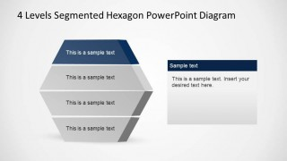 Staged Hexagonal Diagram Highlighting First Layer