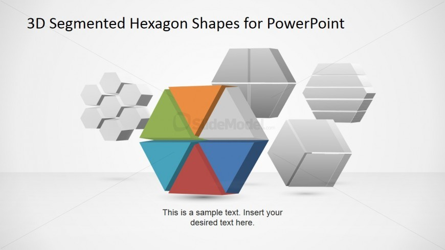 3D Hexagonal Business Images for PowerPoint