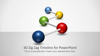 Splash page for 3D Zig Zag PowerPoint Timeline.