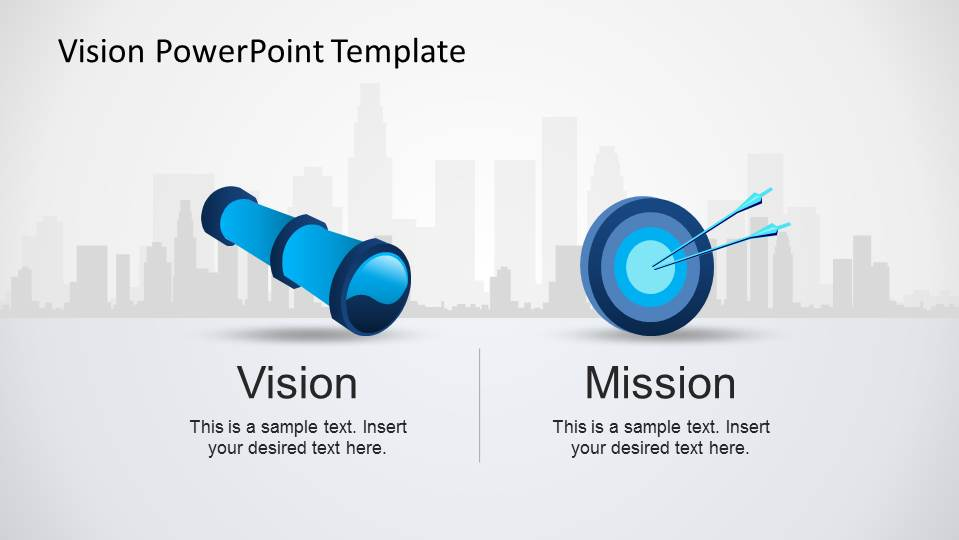 Professional powerpoint templates slides slidemodel mission and vision powerpoint template toneelgroepblik Images