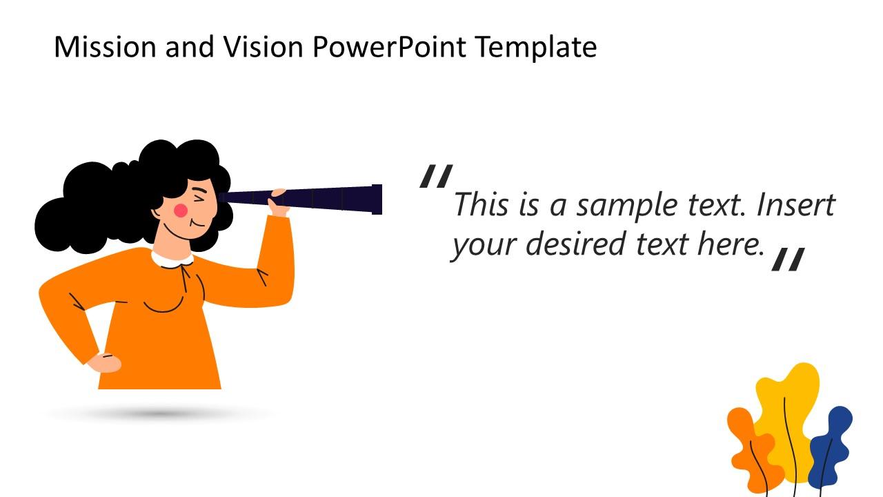 Vision Statement Presentation PowerPoint