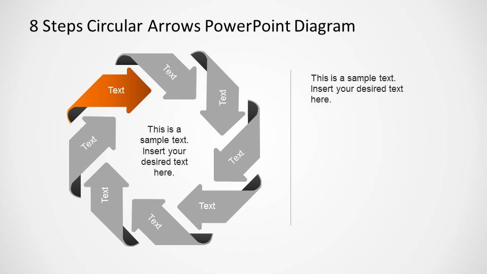 8 steps circular arrows powerpoint diagram slidemodel 8 steps circular arrows powerpoint diagram with first step labeled ccuart Images