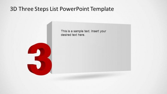 Third Step Description of Numbered List