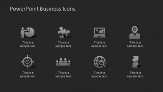 Spectacular PowerPoint Business Icons Collection