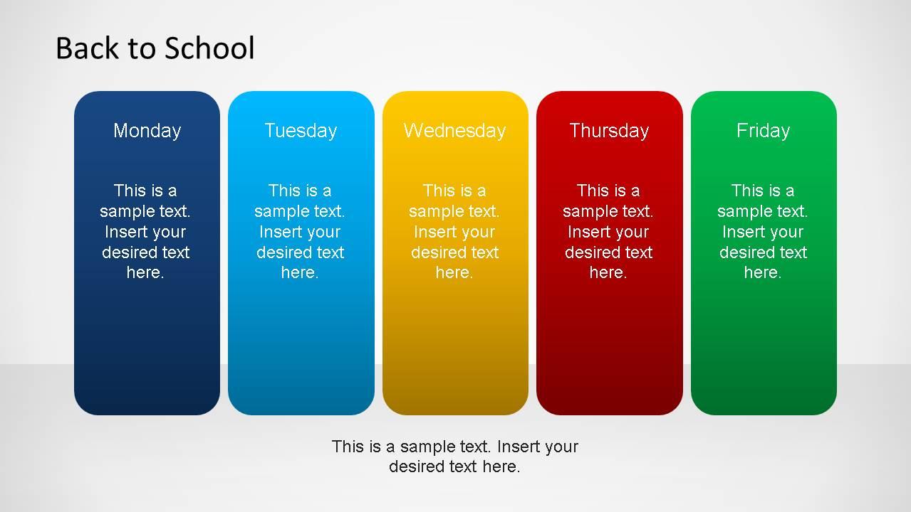 Back To School Powerpoint Template Slidemodel