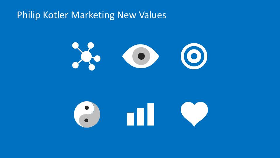Set of PowerPoint Icons for Marketing 3.0