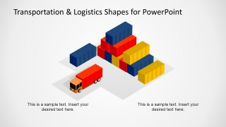 Logistics & Truck Shapes for PowerPoint