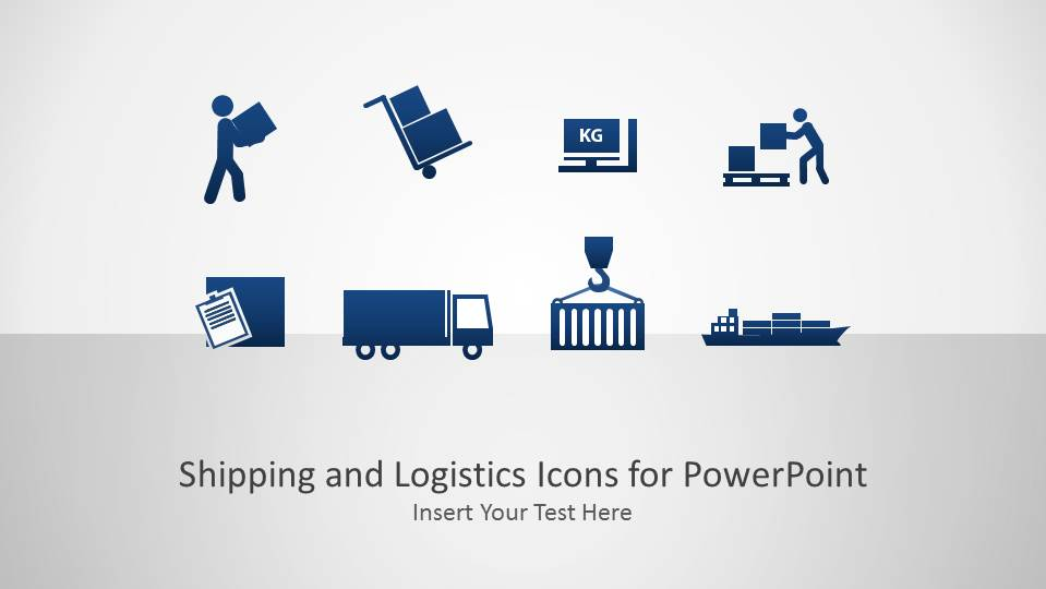 Shipping And Logistics Icons X