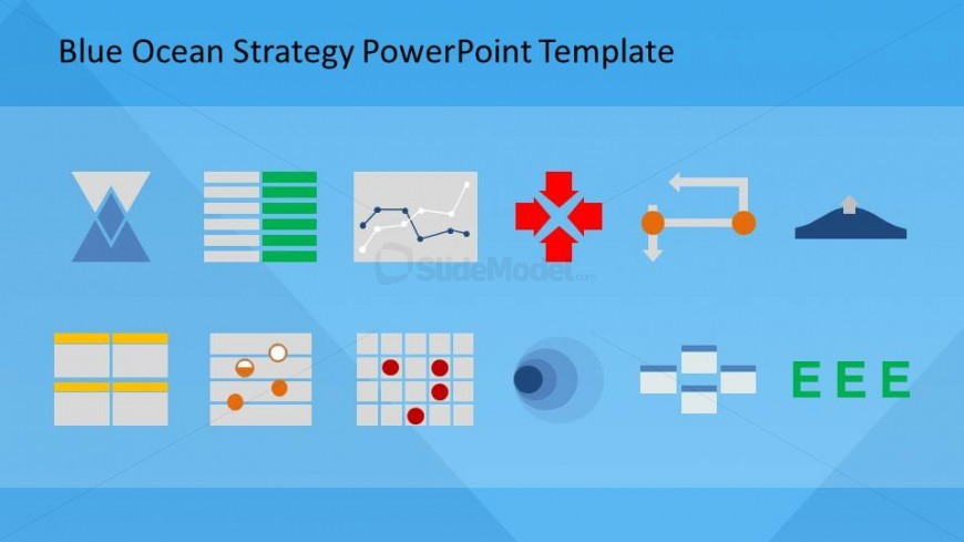 Blue ocean strategy theory and tools for powerpoint slidemodel blue ocean strategy theory and tools for powerpoint toneelgroepblik Gallery