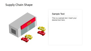 PowerPoint Shapes of Store