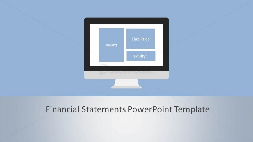 Introductory Slide to Financial Statements PowerPoint Template